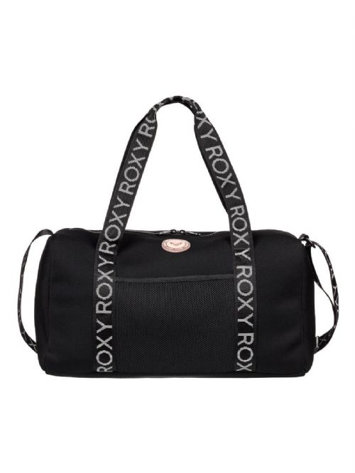 ROXY WOMENS HOLDALL.MOONFIRE NEOPRENE BLACK SPORTS DUFFLE WEEKEND BAG 9S 57 KV